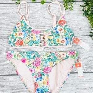 NEW Swim Systems Valley Bloom Two Piece Swimsuit